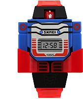 Часы наручные для мальчиков Skmei 1095-1 (красный) -