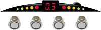 Парковочный радар ParkCity Ultra Slim 418/110 LW (серебристый) -