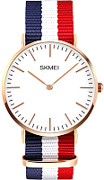 Часы наручные мужские Skmei 1181-1 (синий/белый/красный) -