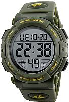 Часы наручные мужские Skmei 1258-3 (зеленый) -