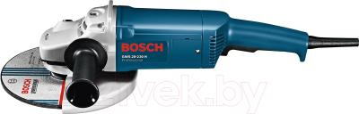 Профессиональная угловая шлифмашина Bosch GWS 20-230 H Professional (0.601.850.107) - вид сбоку