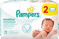 Влажные салфетки Pampers Sensitive Duo (2х56шт) -