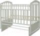 Детская кроватка Антел Алита-3 (белый) -