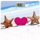 Напольные весы электронные Scarlett SC-BS33E076 (сердце и звезды) -