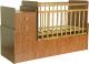 Детская кровать-трансформер Фея 1100 (бук) -