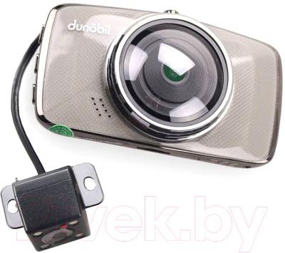 Автомобильный видеорегистратор dunobil chrom duo / jelmd67