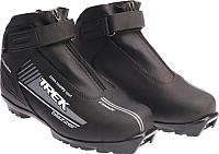 Ботинки для беговых лыж TREK Blazzer Control NNN (черный/серый, р-р 40) -