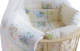 Комплект в кроватку Баю-Бай Улыбка К51-У2 (бежевый) -
