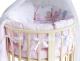 Комплект в кроватку Баю-Бай Забава К51-З1 (розовый) -