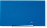 Магнитно-маркерная доска NOBO Diamond Glass Blue 1905188 (55.9x99.3) -