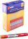 Набор маркеров для доски NOBO Liquid Ink 1901074 (12шт, красный) -