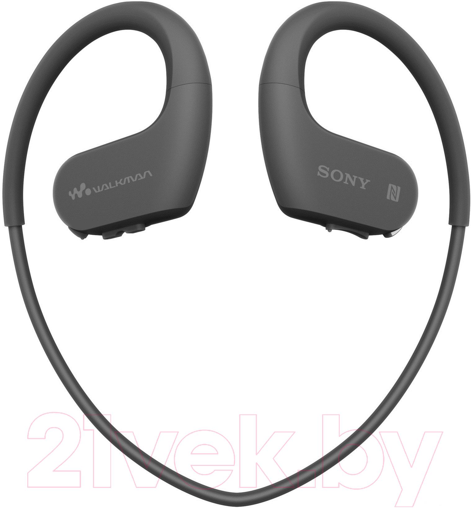 Купить Наушники-плеер Sony, Walkman NW-WS625B (черный), Китай