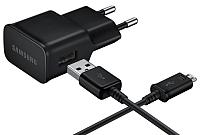 Зарядное устройство сетевое Samsung EP-TA12EBEUGRU (черный) -
