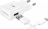 Зарядное устройство сетевое Samsung EP-TA20EWECGRU (белый) -