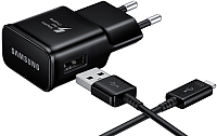 Зарядное устройство сетевое Samsung EP-TA20EBECGRU (черный) -
