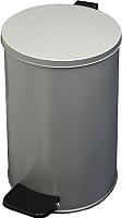 Мусорное ведро Титан Мета 10л (серый) -