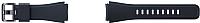 Ремешок для умных часов Samsung Gear S3 / ET-YSU76MBEGRU (черный) -