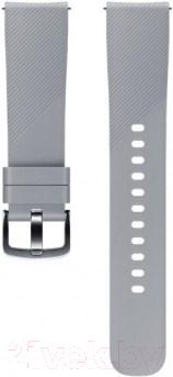 Купить Ремешок для умных часов Samsung, Gear Sport / ET-YSN60MJEGRU (серый), Россия