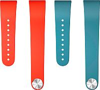 Комплект ремешков для фитнес-трекера Sony SWR310BL (синий/красный) -