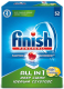 Таблетки для посудомоечных машин Finish All in One Лимон (52шт) -