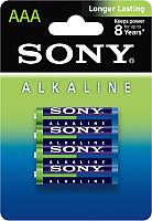 Комплект батареек Sony AM4L-B4D (4шт) -