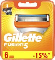 Сменные кассеты Gillette Fusion (6шт) -