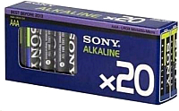 Комплект батареек Sony AM4-M20X (20шт) -