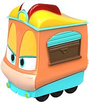 Элемент железной дороги Silverlit Robot Trains Паровозик Джин / 80161 (в блистере) -