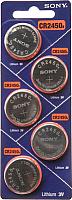 Комплект батареек Sony CR2450BEA (5шт) -