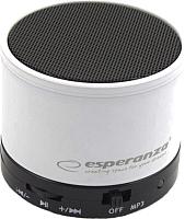 Портативная колонка Esperanza EP115W (белый) -
