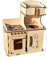 Комплект аксессуаров для кукольного домика POLLY Кухонный гарнитур для больших кукол -