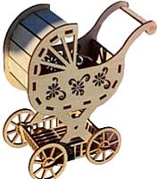 Сборная игрушка POLLY Детская коляска для кукол -