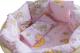 Комплект в кроватку Баю-Бай Нежность К51-Н1 (розовый) -