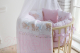 Комплект в кроватку Баю-Бай Мечта К91-М1 (розовый) -