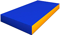 Гимнастический мат Romana ДМФ-ЭЛК-14.00.00 (голубой/желтый) -