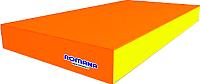 Гимнастический мат Romana ДМФ-ЭЛК-14.00.00 (оранжевый/желтый) -