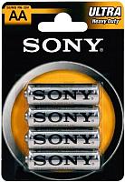 Комплект батареек Sony SUM3NUB4A (4шт) -