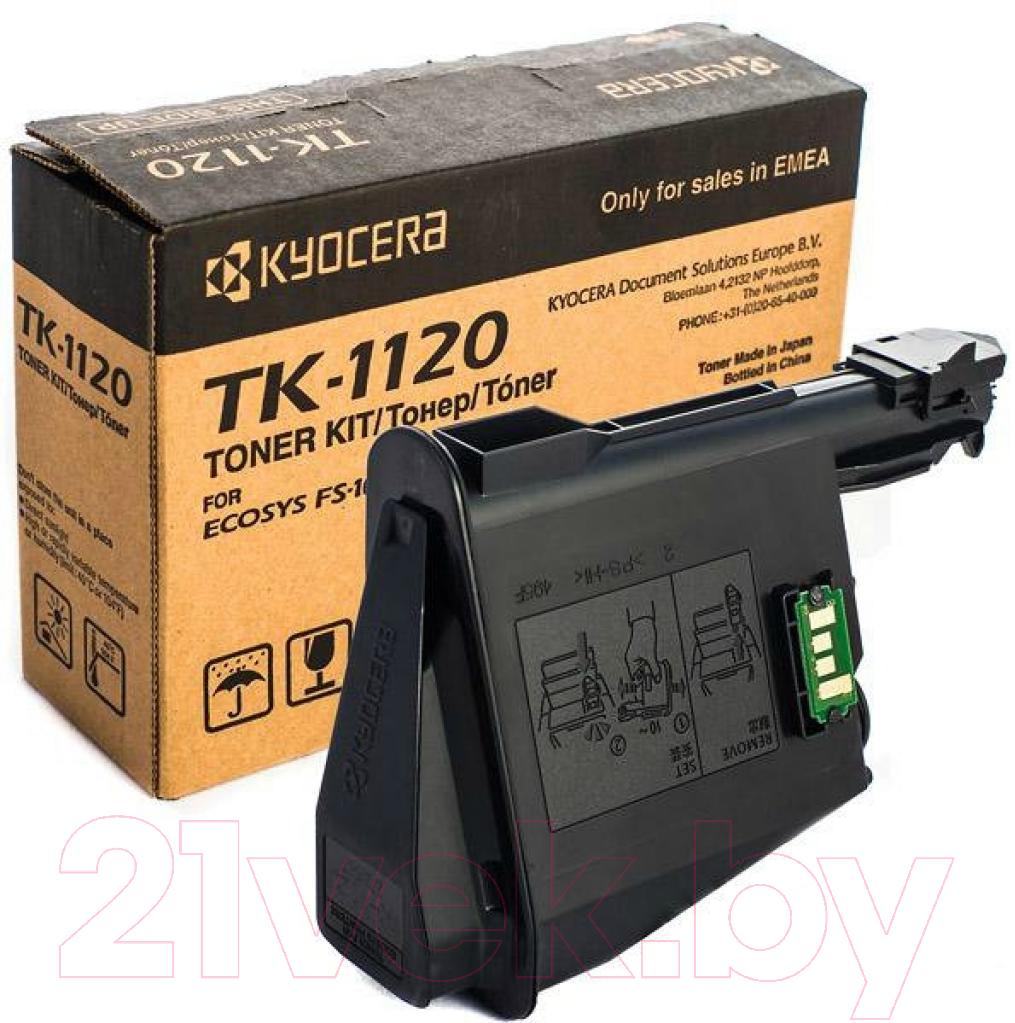 Купить Тонер-картридж Kyocera Mita, TK-1120, Китай, черный