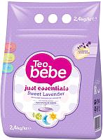 Стиральный порошок Teo Bebe Sweet Lavender для детских вещей (2.4кг) -
