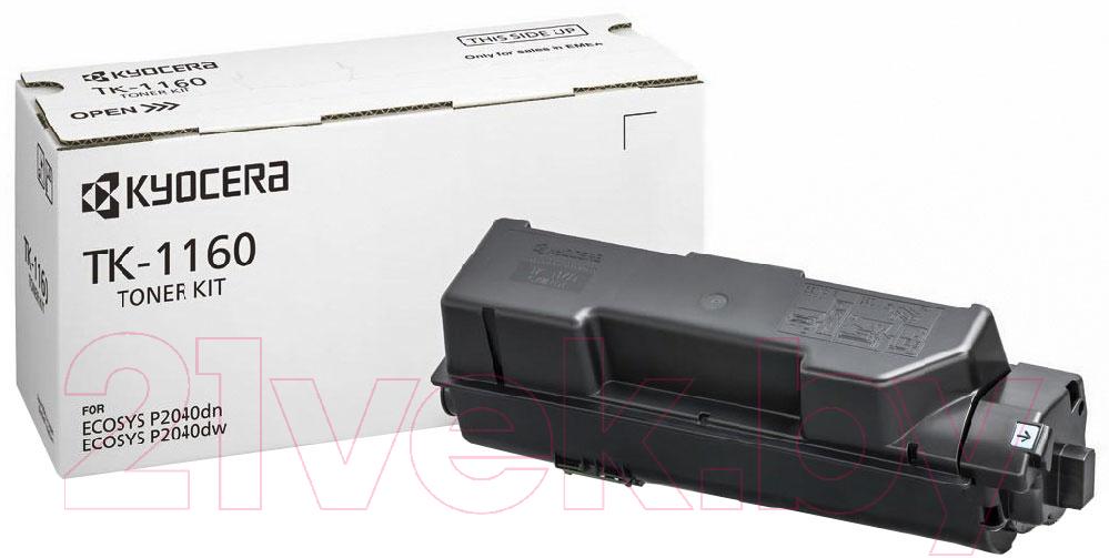 Купить Тонер-картридж Kyocera Mita, TK-1160, Китай, черный