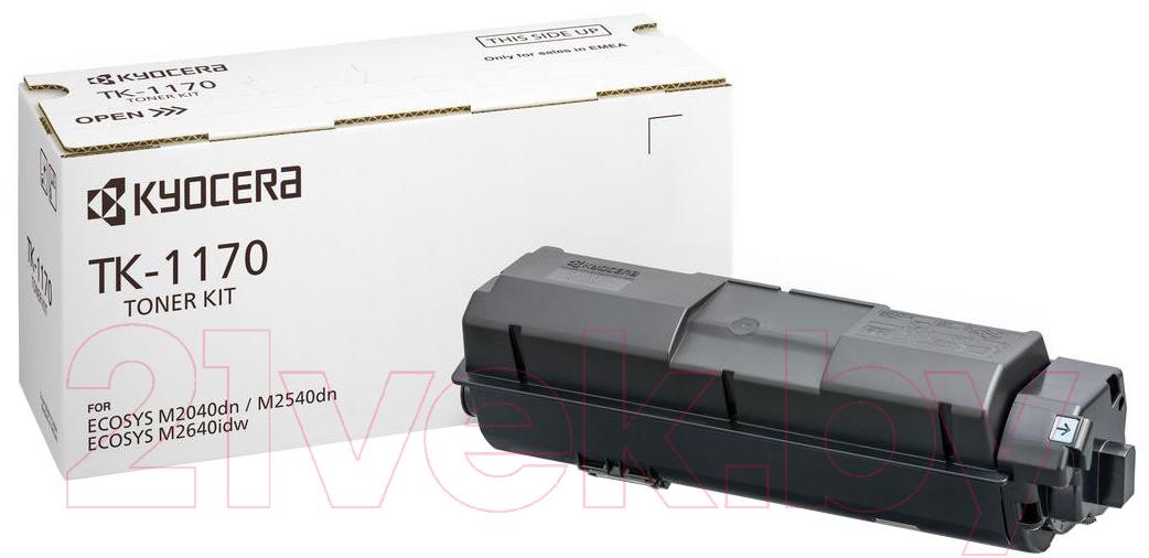 Купить Тонер-картридж Kyocera Mita, TK-1170, Китай, черный