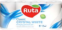 Туалетная бумага Ruta Classic (белая, 8рул) -