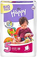 Подгузники Bella Baby Happy Junior 12-25кг (58шт) -