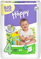 Подгузники Bella Baby Happy Maxi 8-18кг (66шт) -