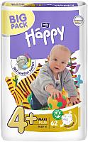 Подгузники Bella Baby Happy Maxi Plus 9-20кг (62шт) -