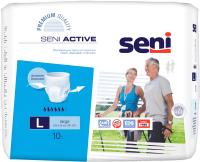 Трусы впитывающие для взрослых Seni Active Large (10шт) -