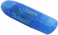 Картридер CBR Cool Pro 9 в 1 (синий) -