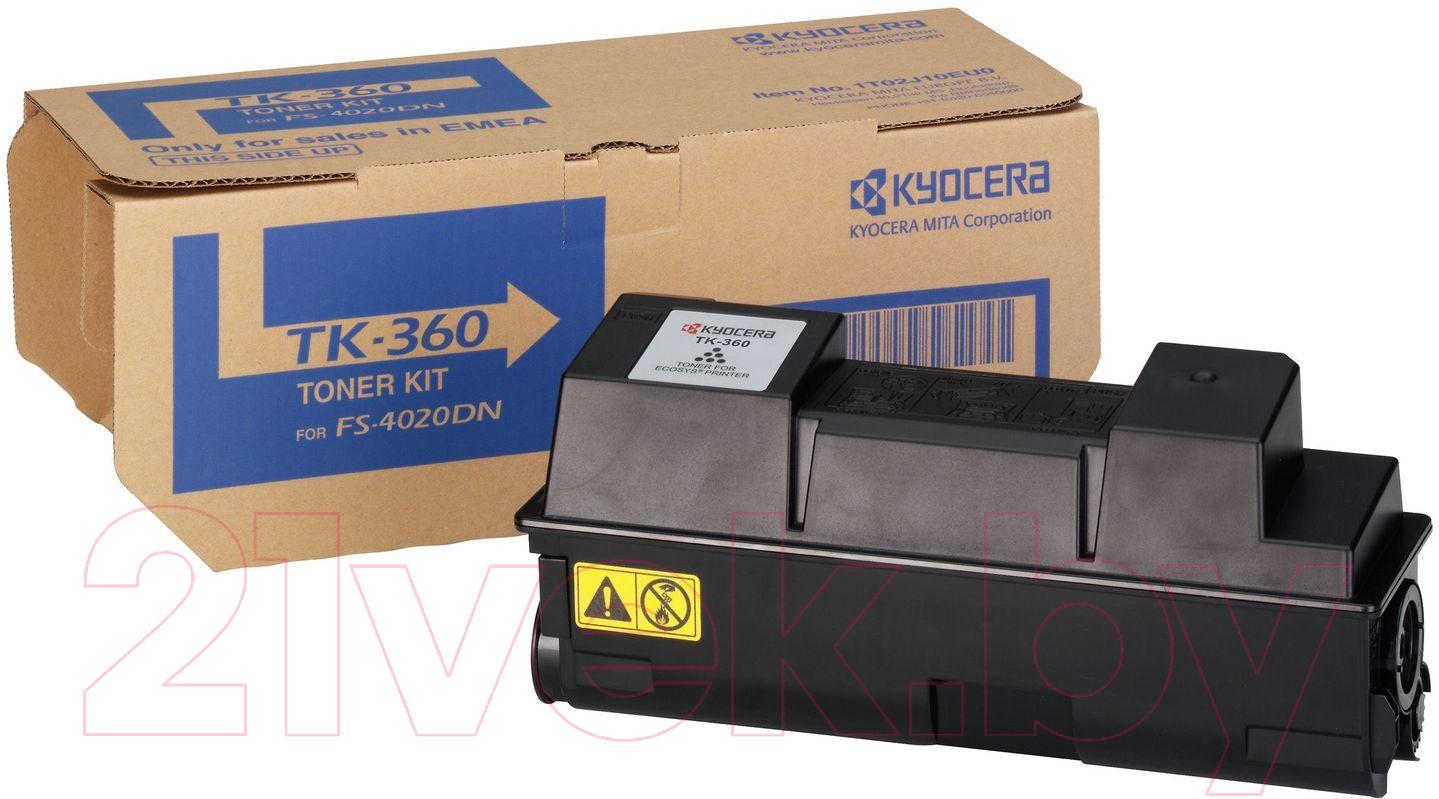 Купить Тонер-картридж Kyocera Mita, TK-360, Китай, черный