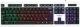 Клавиатура Гарнизон GK-110L (черный/белый) -