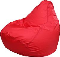 Бескаркасное кресло Flagman Груша Медиум Г1.1-06 (красный) -